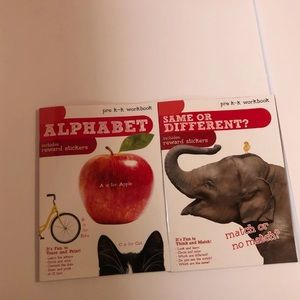 Alphabet and Matching Workbooks for Pre-K